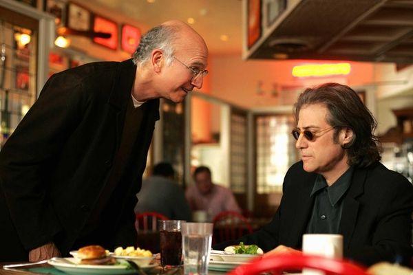 Larry David, left, and Richard Lewis on