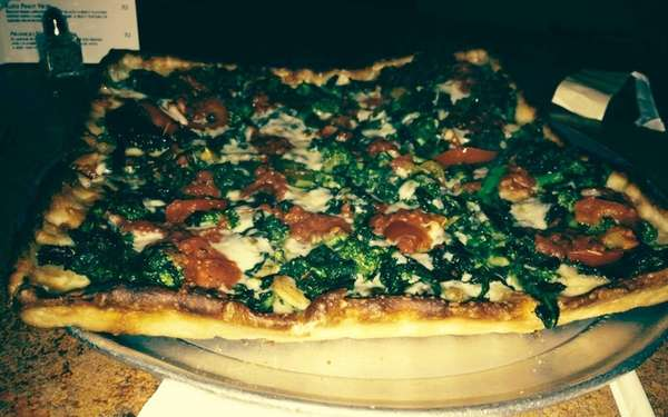The 4 Corner Grandma Arrabbiata pizza at Il