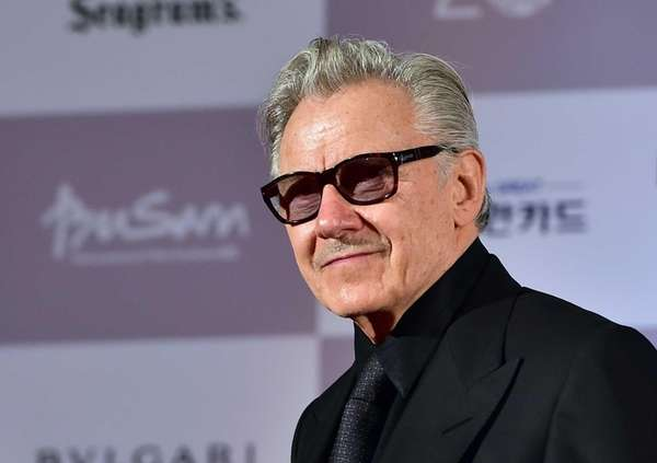 Harvey Keitel at the opening ceremony of the