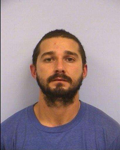 Actor Shia LaBeouf was arrested and charged with