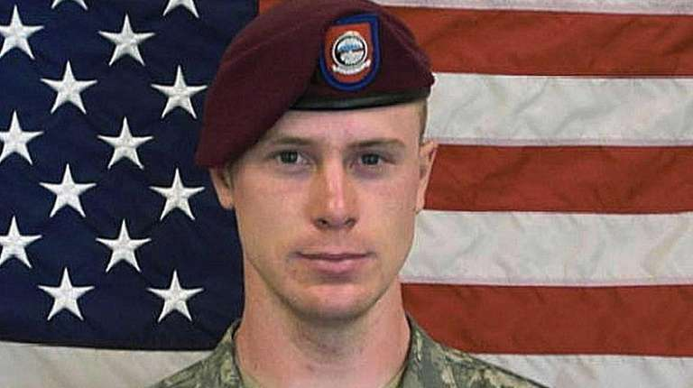 Army Sgt. Bowe Bergdahl was charged with desertion