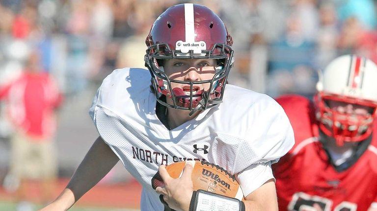 North Shore's Ryan Aughavin breaks into the open