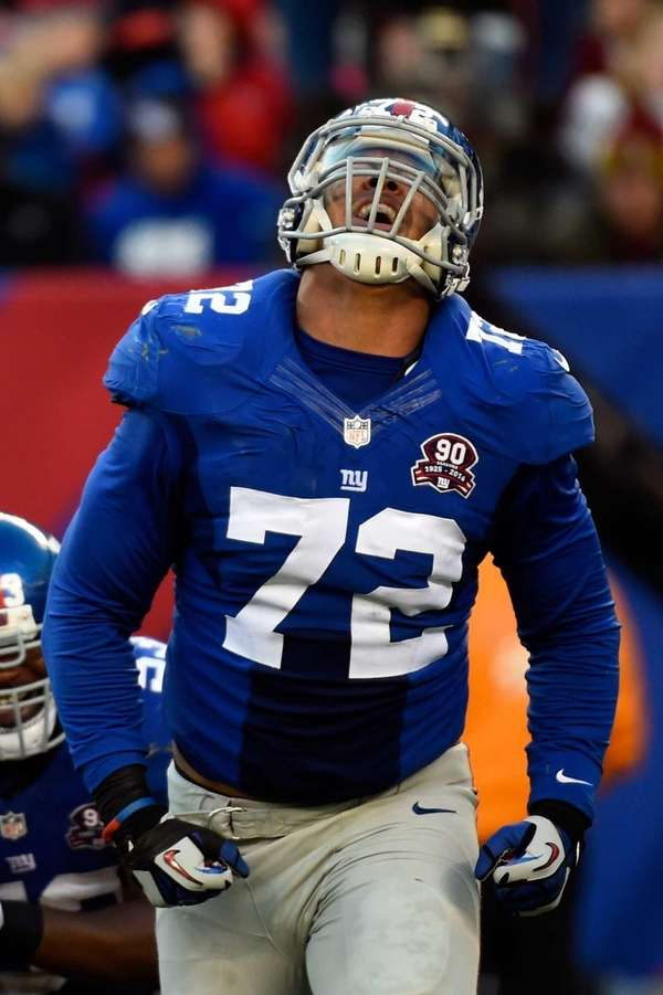 Kerry Wynn #72 of the New York Giants