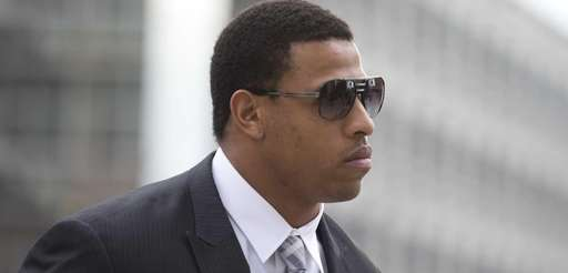 Carolina Panthers' defensive end Greg Hardy is shown