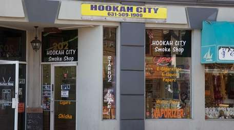 Hookah City on Main Street in Port Jefferson