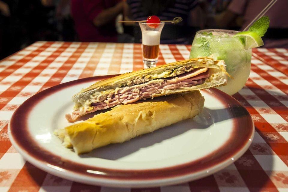 Cuban sandwich at Rincon Criollo (16 W. Jericho
