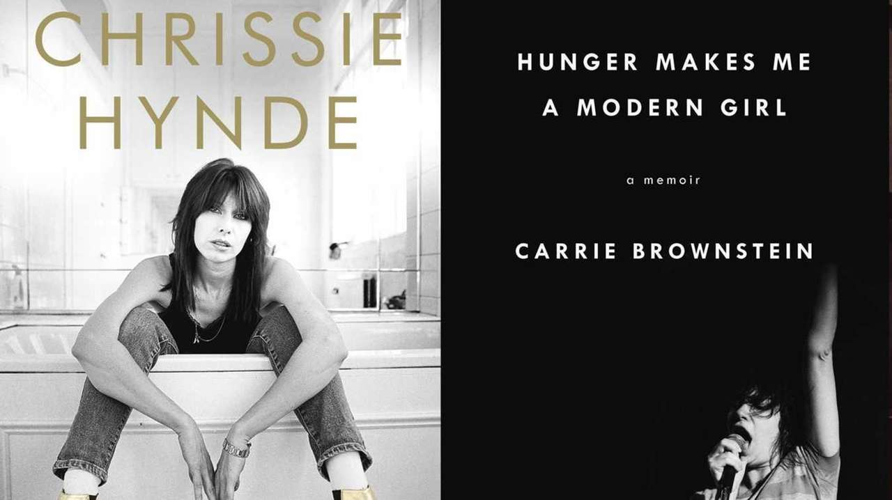 Three women rockers -- Chrissie Hynde, Carrie Brownstein