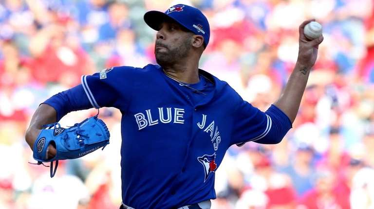 David Price of the Toronto Blue Jays pitches