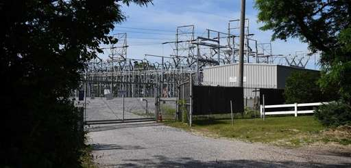 The PSEG substation on Ruland Road in Melville
