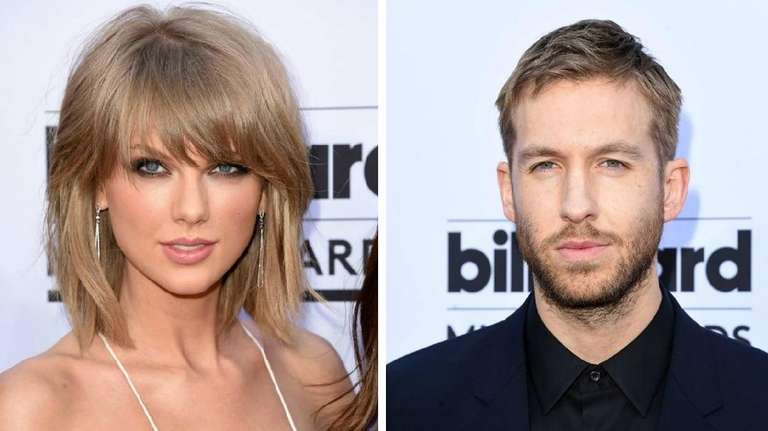 Taylor Swift and her boyfriend, Calvin Harris, are