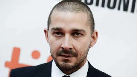 Actor Shia LaBeouf is seen in Toronto on