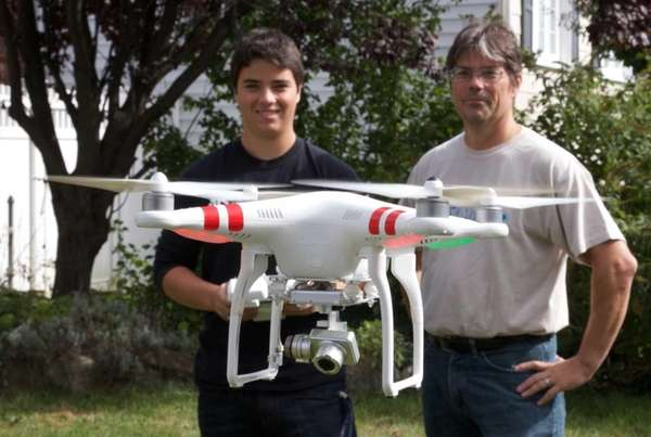 Tyler Dubuke, 17, and his father, Jerry Dubuke,