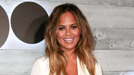 Chrissy Teigen arrives at the Go90 Sneak Peek