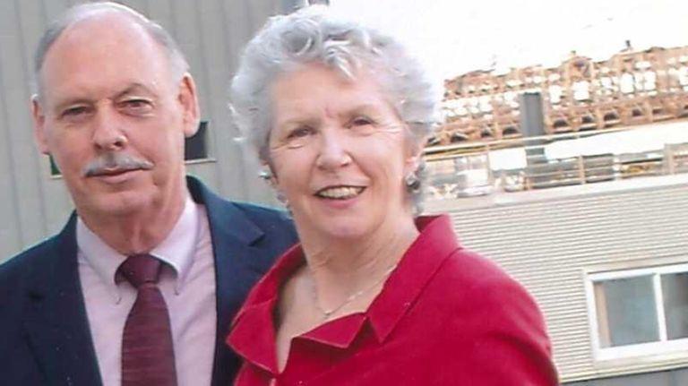 Bill and Patricia McKenna of Douglaston, Queens, in