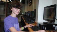 Grant Goodman, a sophomore at North Shore High