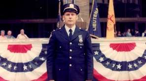 John J. Yuknes in uniform in 1975 when