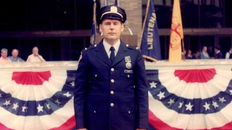 John J. Yuknes is in uniform in 1975