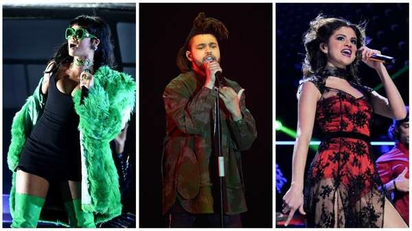 Rihanna, The Weeknd and Selena Gomez will be
