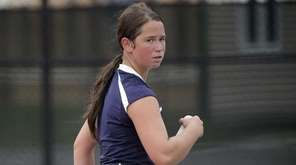 Eastport-South Manor's Jackie Bukzin returns to the court