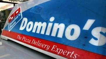 A Domino's sign is shown in this 2007