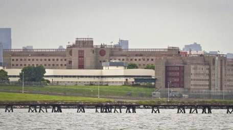 The eastern section of Rikers Island jail complex
