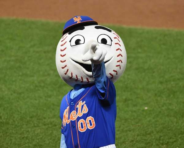 The iconic Mr. Met was introduced to fans