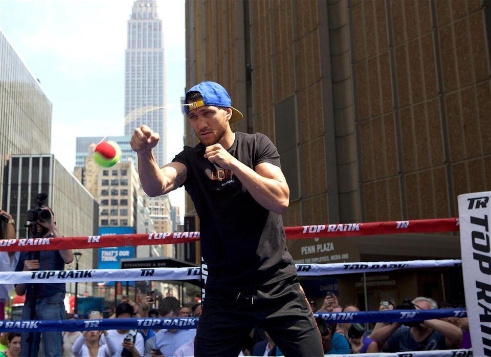 Vasyl Lomachenko scored dominant victories over quality champions