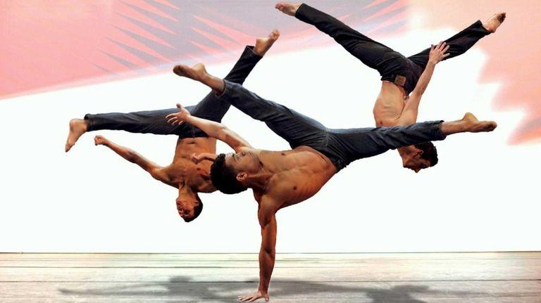 Bad Boys of Dance perform