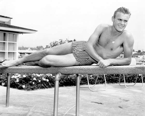 Tab Hunter, the actor with the all-American looks