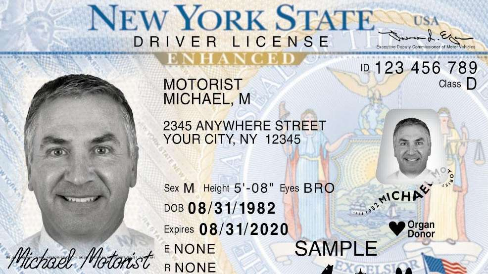 New Yorkers can use a standard license to