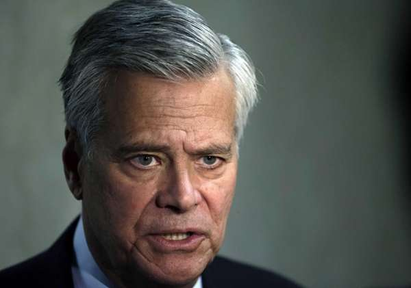 Sen. Dean Skelos (R-Rockville Centre) speaks in Albany