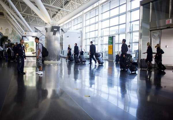 The interior of Kennedy Airport on July 22,