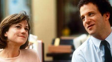 Holly Hunter and Albert Brooks in