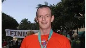 Social studies teacher Chris Boundy, 36, hit his