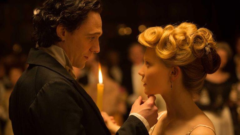 Tom Hiddleston and Mia Wasikowska in