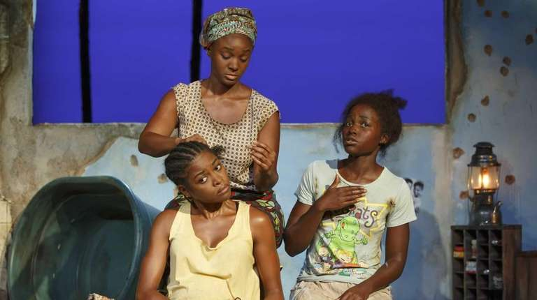 From left, Pascale Armand, Saycon Sengbloh and Lupita