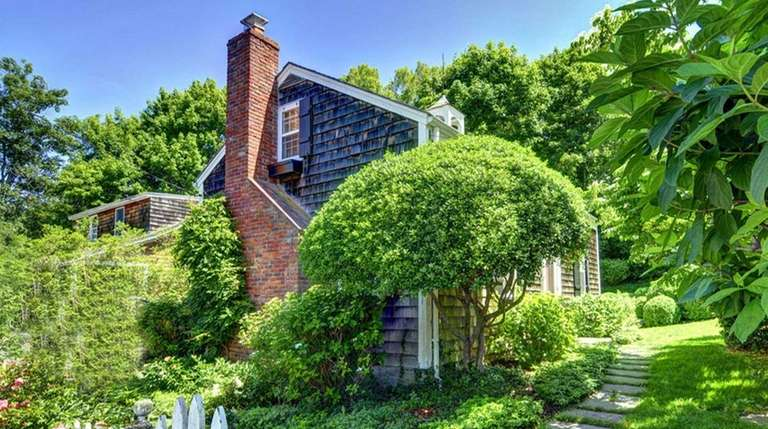 This three-bedroom home in Sag Harbor is on