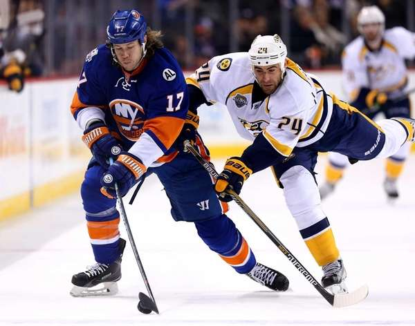 Matt Martin of the New York Islanders and