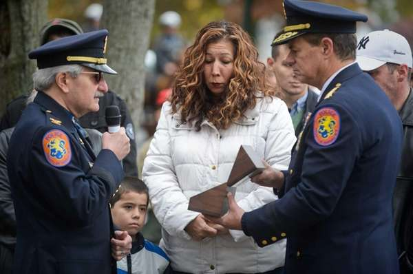 Paula Breitkopf, widow of fallen Nassau County Police