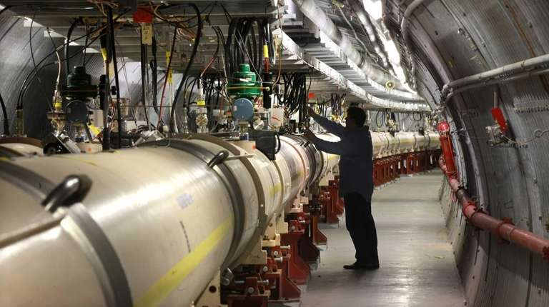 Brookhaven National Laboratory already has an ion collider,