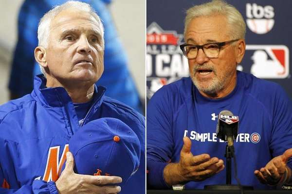 This Newsday composite image shows Mets manager Terry