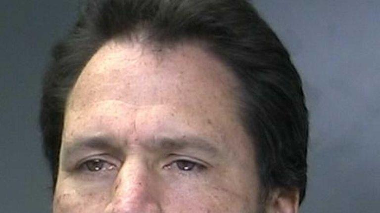 Brian Cook, 45, of Setauket, was arrested on