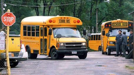 A Baumann & Sons Buses Inc. vehicle is