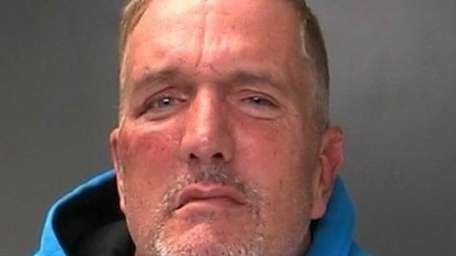 Michael Ward, 48, of Selden, was arrested Friday,