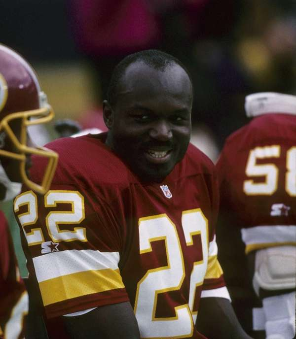 Washington Redskins safety Todd Bowles looks on during