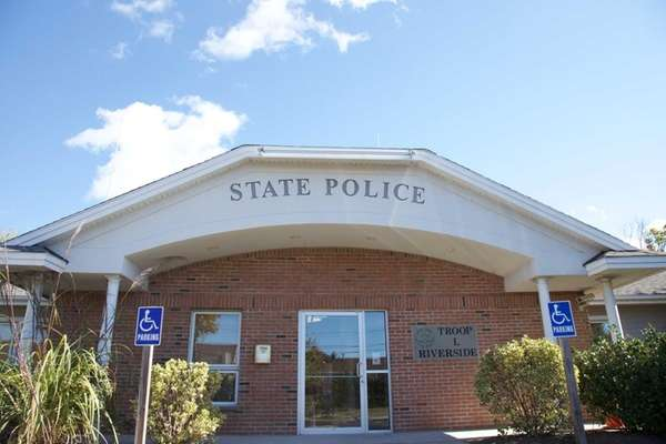The New York State Police station in Riverside