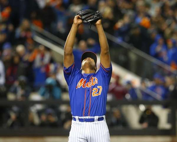 New York Mets relief pitcher Jeurys Familia (27)