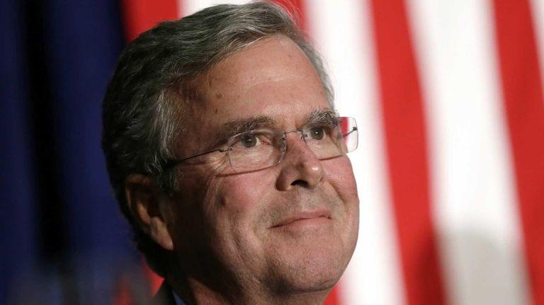 Republican presidential candidate, former Florida Gov. Jeb Bush