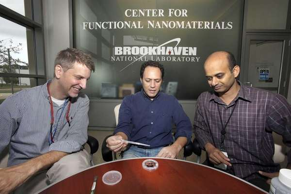 Physicists Charles Black, Antonio Checco and Atikur Rahman