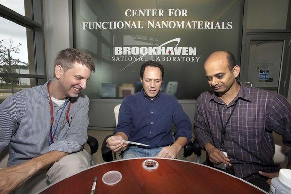Physicists Charles Black, Antonio Checco and Atikur Rahman